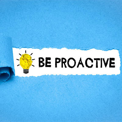 Be Proactive and You'll Reduce Downtime